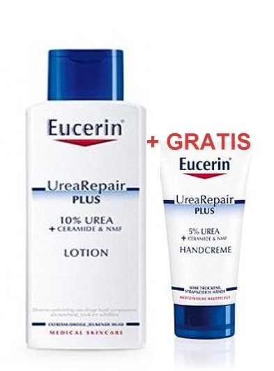 eucerin urearepair losion za tijelo s 10 ureje 250ml gratis krema